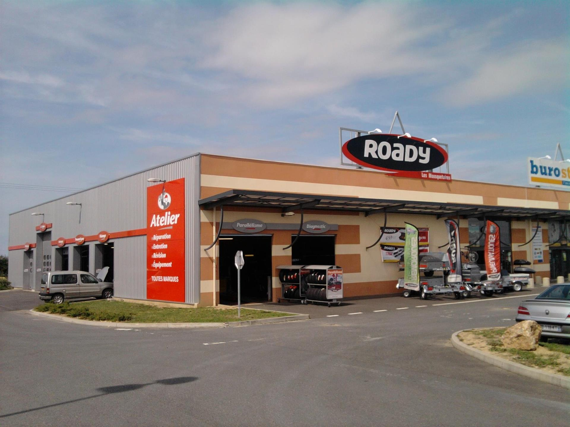 Photo Centre Auto Roady Gien
